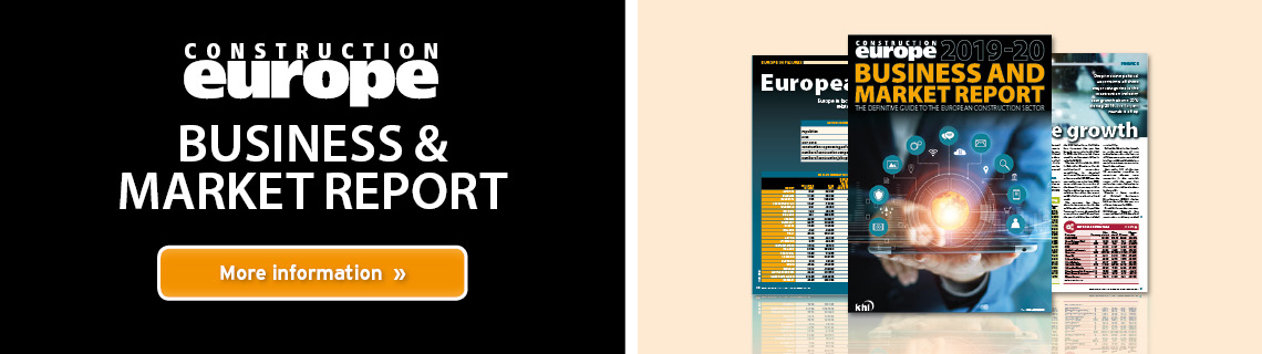 Construction Europe Business & Market Report 2019-20