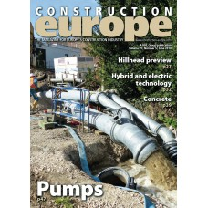 Construction Europe magazine subscription